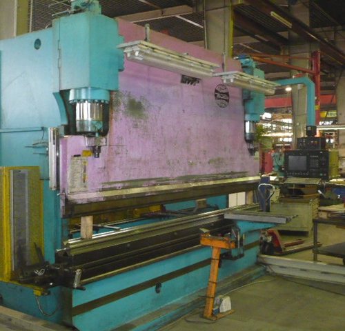 CNC Press Brake GWF Mengele (200 t) used buy at Althaus