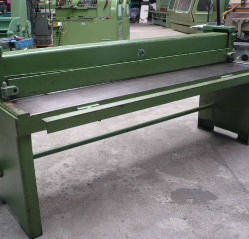 Manual Tafelschere Schechtl HT 200 used buy at Althaus Maschinenhandel
