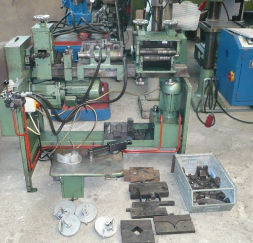 Automatic Multi-purpose Iron Twister Hebö used buy at Althaus Maschinenhandel