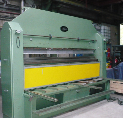 Combined Press Brake Guillotine Shear Eclair Aps 70 Used