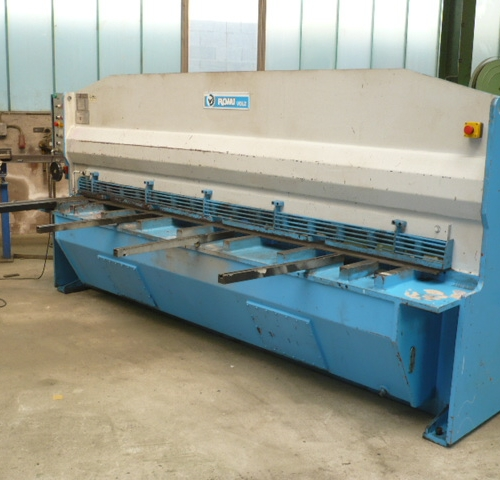 Buy Hydraulic Guillotine Shear Romi Used At Althaus