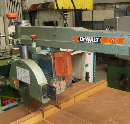 Radial Arm Saw Pull Saw Dewalt Type Dw 110 Used Buy At