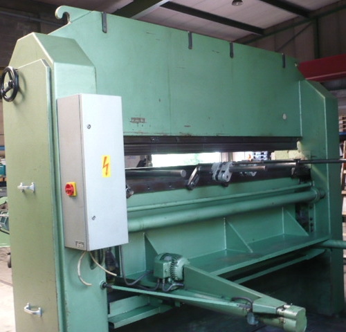 Combined Press Brake Guillotine Shear Eclair Aps 70 Used