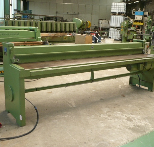 Motor Plate Shear Schechtl Smt 300 Used Buy At Althaus