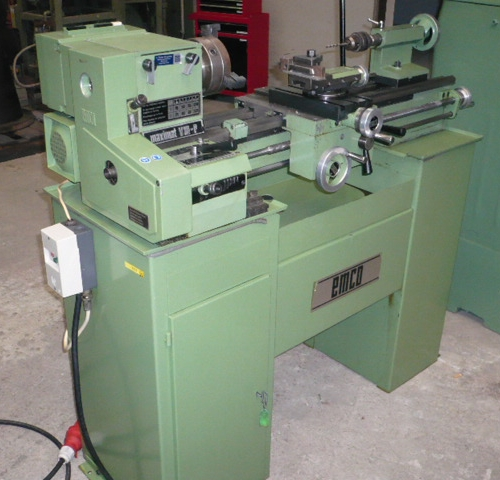 Lead And Spindle Lathe Emco Maximat V 10 P Buy Used At Althaus Maschinenhandel